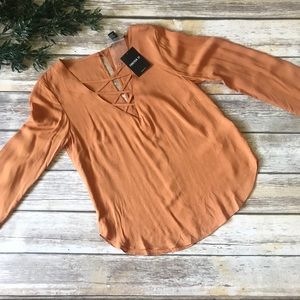 Fall Staple Long Sleeve Blouse